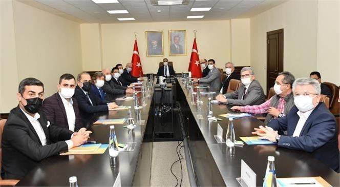 Gilindire ve Astım Mağaraları Fizibilite Proje Toplantısı Vali Su Başkanlığında Gerçekleştirildi