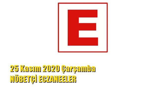 Mersin Nöbetçi Eczaneler 25 Kasım 2020 Çarşamba