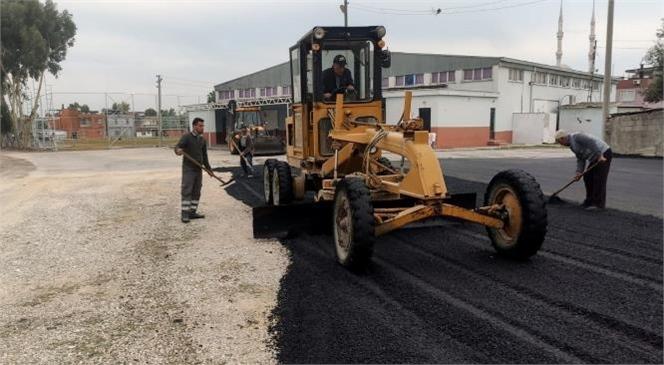 Yeni Yollar Açılıyor, Asfalt, Kaldırım, Kilit Taşları, Bordür ve Yağmur Suyu Giderleri Yenileniyor