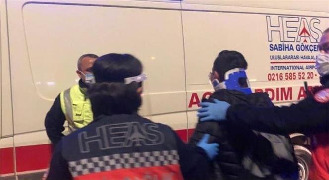 İçel İdmanyurdu Ekibi Kaza Yaptı, Yaralılar Var! Havaalanındaki Kaza Korkuttu