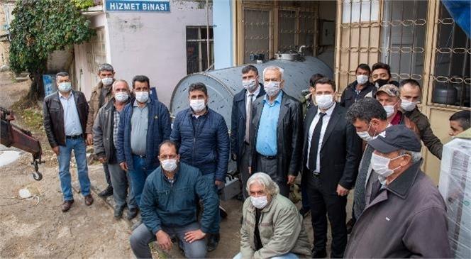 Mersin Büyükşehir'den Süt Üreticilerine Soğutma Tankı Desteği