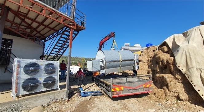 Tarsus Süt Üreticileri Birliği'ne Soğutma Tankı Teslimi Yapıldı