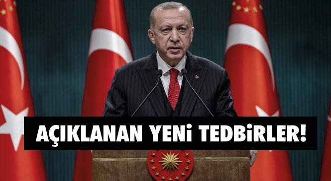 Mersin'de Yasak Var Mı? Cumhurbaşkanı Erdoğan'ın Açıkladığı Koronavirüs Tedbirleri