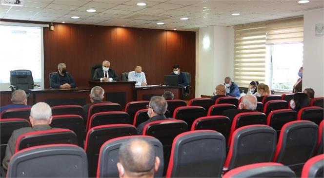 Erdemli Belediyesi, Aralık Ayı Meclis Toplantısını Gerçekleştirdi