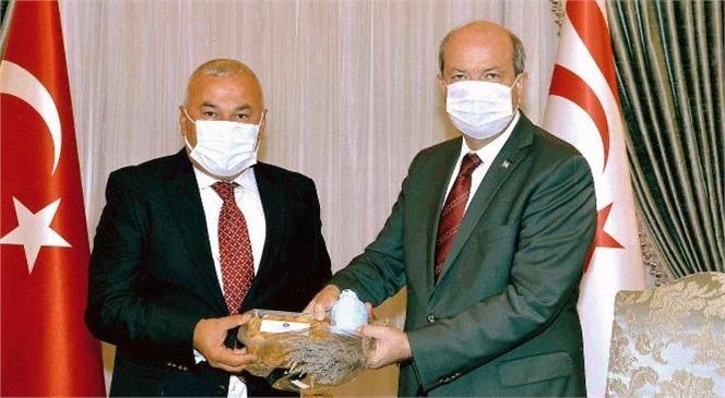 İlhan Ulu'dan KKTC Cumhurbaşkanı'na Ziyaret