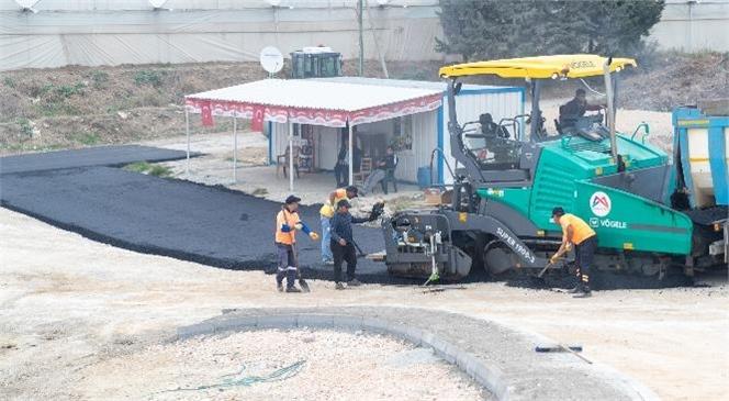 İki Mahalle Arasındaki Bağlantı Yolunda Çalışma Yapıldı, Kaldırımlar Onarıldı