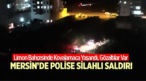 Mersin'in Erdemli İlçesinde Polisin Dur İhtarında Bulunduğu Motosikletten Ekiplere Pompalı Tüfekle Ateş Açıldı