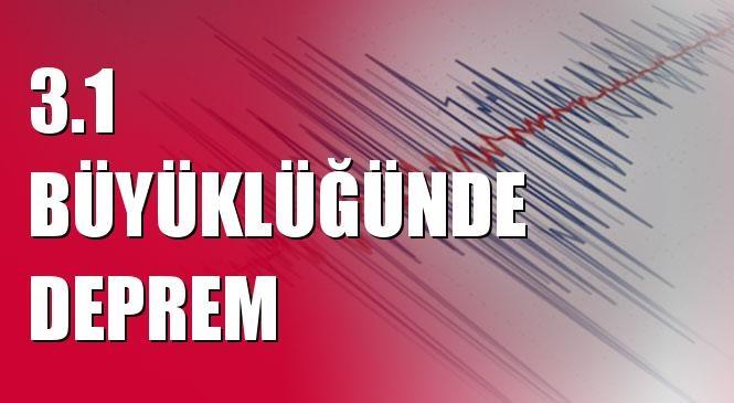 Merkez Üssü Alıcan - Yazıhan (Malatya) Olan 3.1 Büyüklüğünde Deprem Meydana Geldi