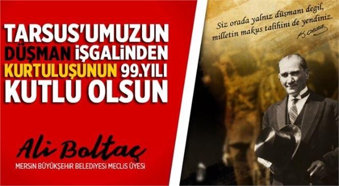 Ali Boltaç'tan 27 Aralık Kurtuluş Günü Mesajı