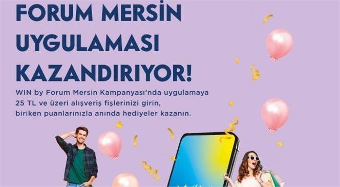 Forum Mersin'in Avantajlarla Dolu Mobil Uygulaması Kazandırıyor!