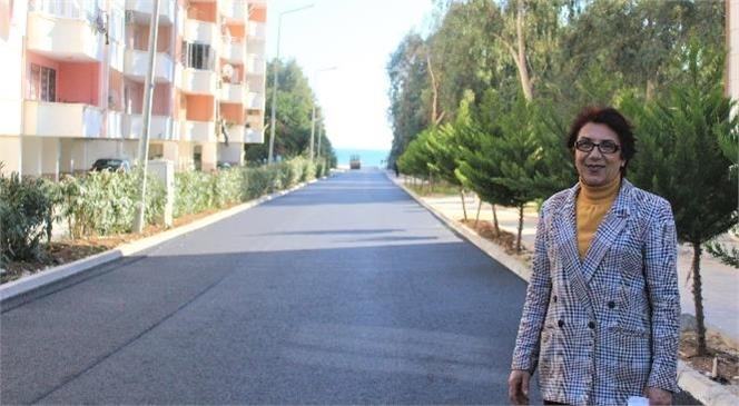 Hamza Yerlikaya Caddesi'ndeki Sıcak Asfalt ve Kaldırım Çalışmaları Tamamlandı