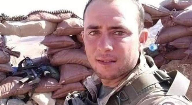 Mersinli Asker Görev Yaptığı Şırnak'ta Vefat Etti