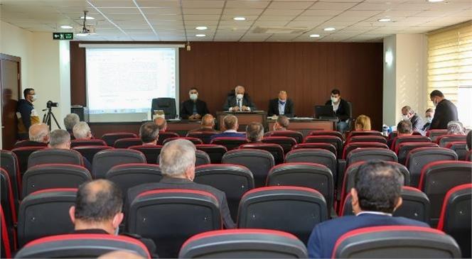 """""""Erdemli Belediyesi, 2021 Yılı İlk Meclis Toplantısını Gerçekleştirdi"""""""