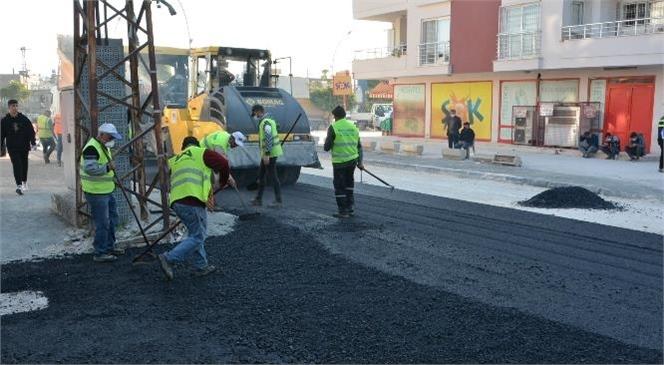 Büyükşehir, Kapsamlı Yol ve Kaldırım Yenileme Çalışmalarına Devam Ediyor