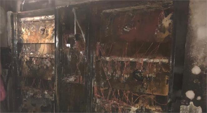 Bodrum Katındaki Elektrik Panosu Yandı