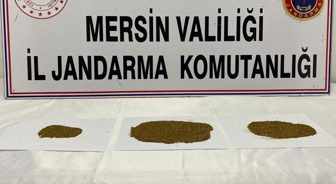 Mersin Silifke'de Uyuşturucu Kullanırken Suçüstü Yakalanan Şahıslar Torbacının Adını Verdi 4 Kişi Gözaltına Alındı