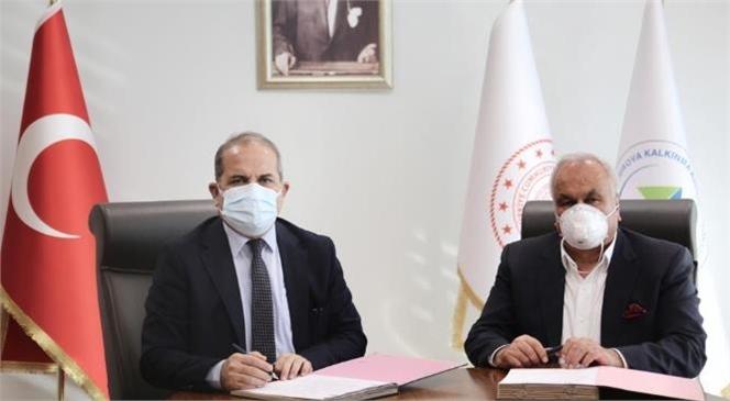 """""""Ekolojik Kamping Projesinde İmzalar Atıldı"""""""