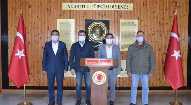 Tarsus TSO'dan Çamlıyayla'ya Eğitim Desteği