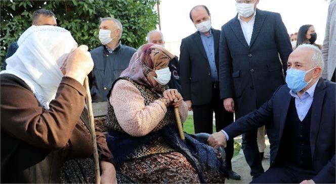 Akdeniz Belediyesi Başkan Gültak, Bir Günde 5 Mahalleyi Ziyaret Etti