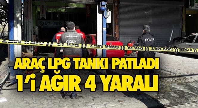Mersin Erdemli Sanayi Sitesinde Patlama, Yaralılar Var! Lpg'li Aracın Bakımı Sırasında Feci Olay