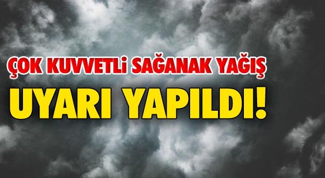 Mersin'den Antalya'ya Gidecek Olanlar Dikkat! Antalya'nın Doğusunda Beklenen Kuvvetli Yağışlara Dair Uyarı Yapıldı