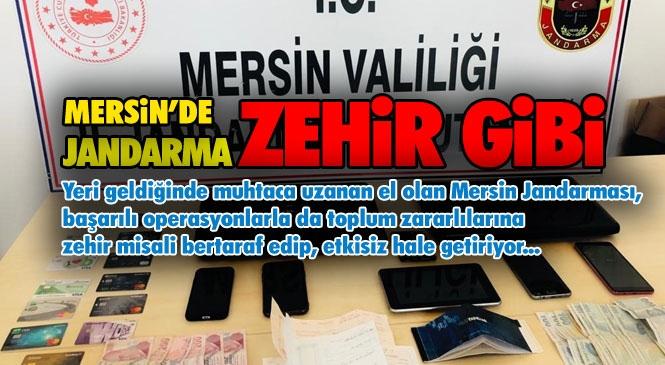 Mersin'de Jandarmadan Tarafından Yasa Dışı Bahis ve Nitelikli Dolandırıcılık Şebekesine Yönelik Operasyon Yapıldı: 7 Tutuklama