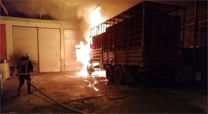 Mersin Büyükşehir İtfaiyesi 2020'de Tarsus'ta Yüzlerce Yangın Olayına Müdahale Etti