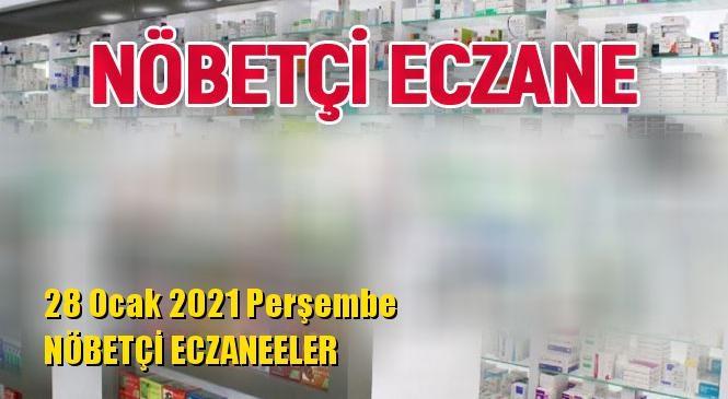 Mersin Nöbetçi Eczaneler 28 Ocak 2021 Perşembe