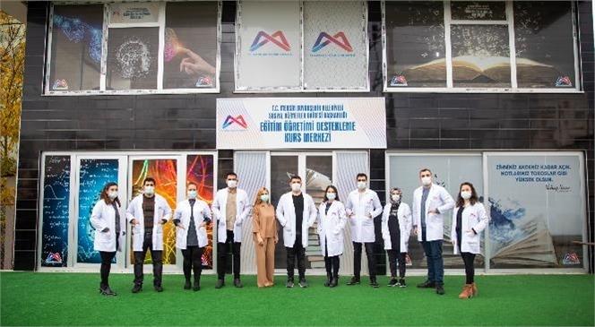 Mersin'deki Kurs Merkezlerinde Tüm Önlemler Alınarak Yüz Yüze Eğitim Başladı