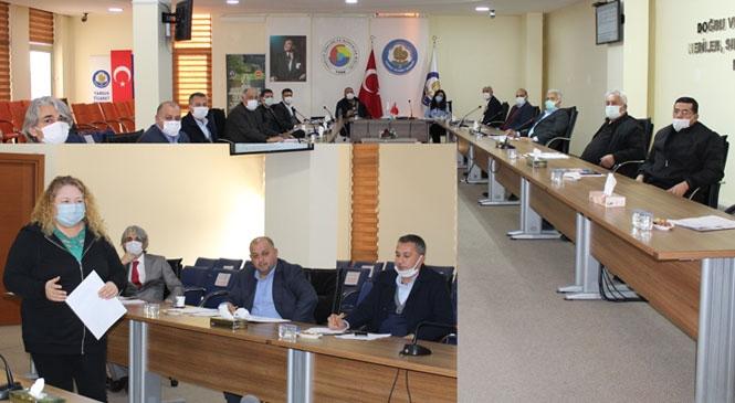 Tarsus Borsa Meclis Üyelerine Yürütülen AB Projelerinin Bilgisi Verildi
