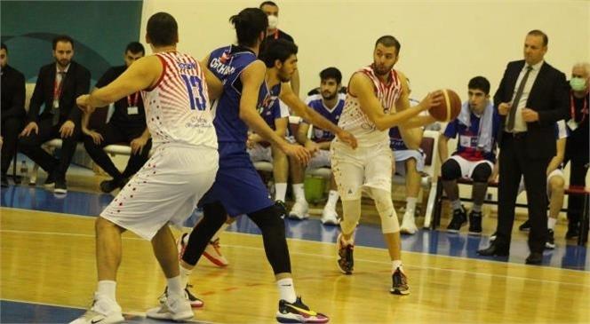 Erkek Basketbol Takımı Play-off Yolunda Bir Rakibini Daha Mağlup Etti
