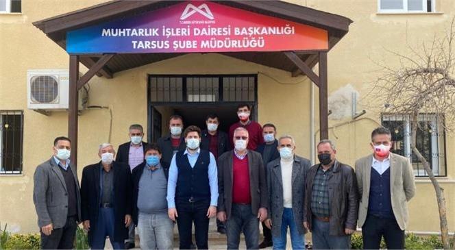 Büyükşehir'e Yapılan Saldırıyı Kınayan Muhtarlardan Geçmiş Olsun Ziyareti