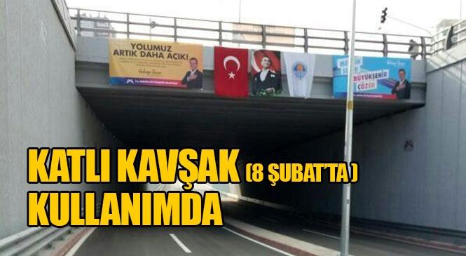 Mersin Merkez Yenişehir'de Yapılan Forum Battı - Çıktı (Katlı Kavşağı) Araç Trafiğine Açılarak Kullanılmaya Başlandı