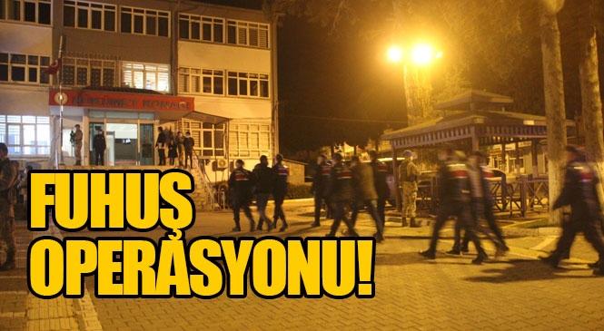 Mersin Gülnar'da Fuhuş Operasyonu: 7 Mağdur Kadın Kurtarıldı