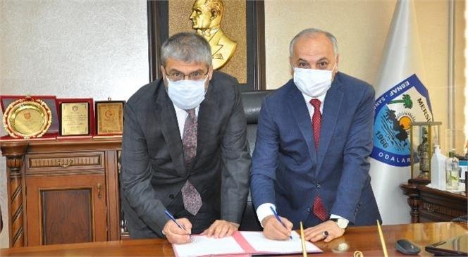 Mersin ESOB ve Tarsus Üniversitesi Arasında İşbirliği Protokolü