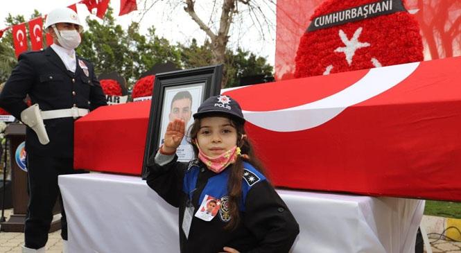 Şehit Polis Memuru Sedat Yabalak Memleketi Bozyazı Tekeli'de Son Yolculuğuna Uğurlandı