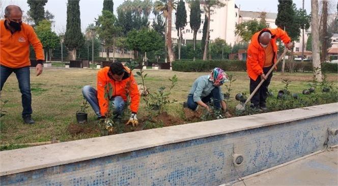 Doğasever Kadın Çiçek Diken Mersin Büyükşehir Personellerine Yardım Etti