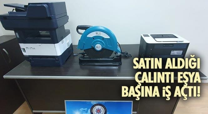 Mersin Tarsus'ta Hırsızların Sattığı Çalıntı Ürünleri Satın Alan Şahıs Hakkında İşlem Yapıldı