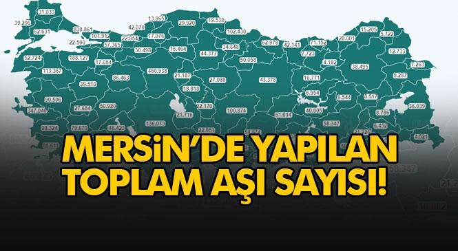 Mersin'de Yapılan Toplam Aşı Sayısı 125.336 Olurken, Türkiye Genelinde Toplam Sayısı 5.179.744 Rakamına Ulaştı
