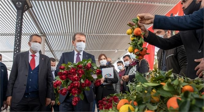 """Mersin Başkan Seçer Davultepe İçin Konuştu: """"Sanayi Yerleri Ayıralım Derken Tarımı Yok Etmeyelim"""""""
