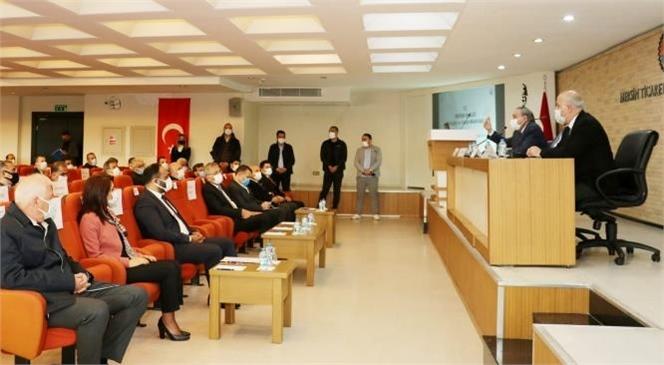 """Başkan Yılmaz; """"Mersin'in Geleceği İçin Güç Birliği Önemli"""""""