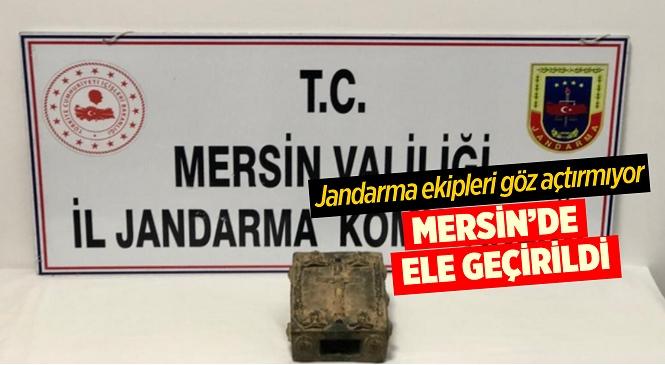 Mersin'in Yenişehir İlçesinde Tarihi Eser Kaçakçılığı Operasyonu, 1 Kişi Yakalandı