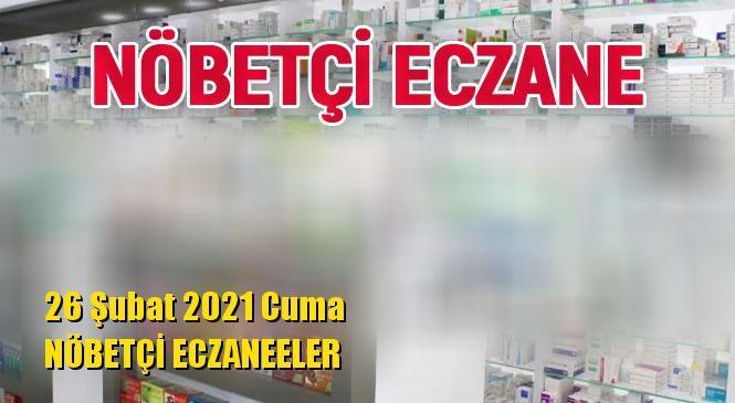 Mersin Nöbetçi Eczaneler 26 Şubat 2021 Cuma