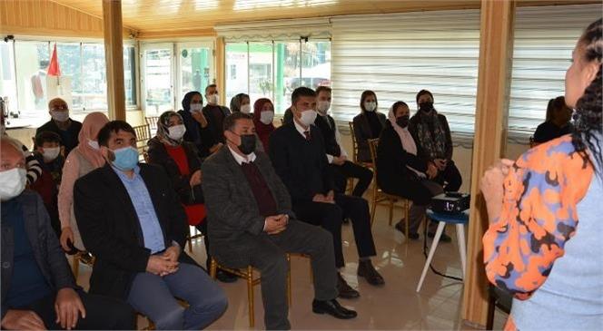 Gülnar'da Kadın Kooperatifleri Kurulma Aşamasında İlk Toplantı Gerçekleşti