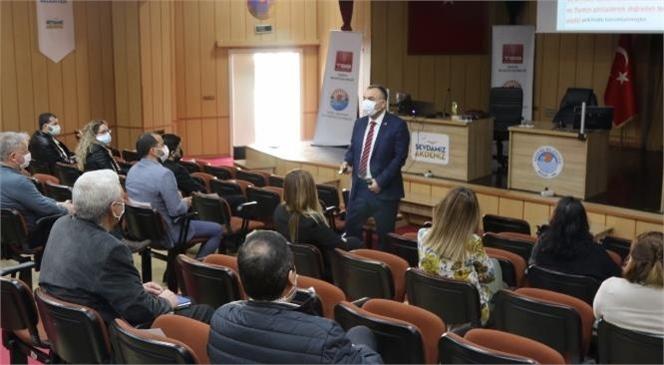 """Akdeniz Belediyesi Personeline """"Doğrudan Temin ve İhale Kanunu Eğitimi"""""""