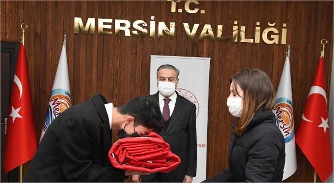 Şanlı Türk Bayrağımız, Mersin'den Çanakkale'ye Uğurlandı