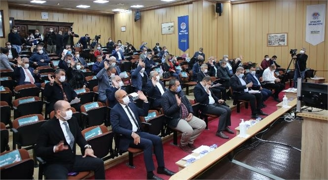 Akdeniz Belediye Meclisinde Kadına Şiddet Konusu Ele Alındı