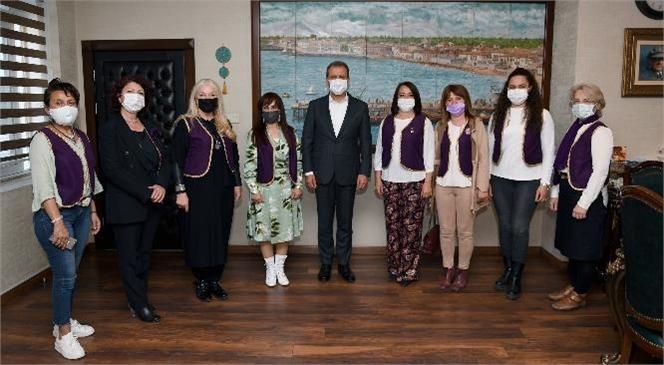 Türk Üniversiteli Kadınlar Derneği'nden Başkan Seçer'e Ziyaret