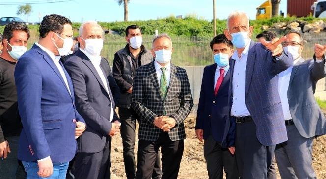 """Akdeniz; 9 Bin Metrekare Alana Sahip Yeni Bir Park Kazanıyor"""""""