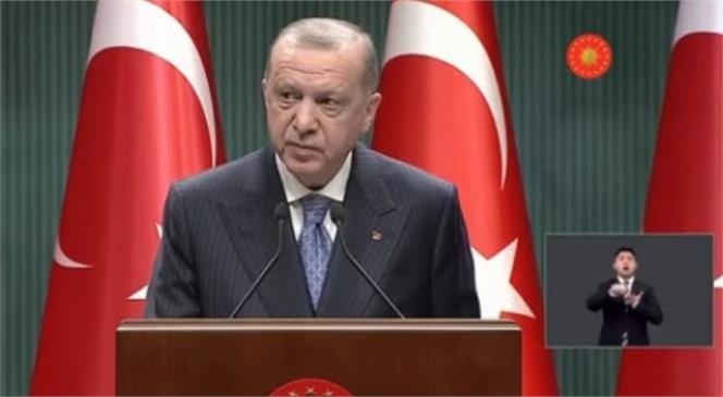 Cumhurbaşkanı Erdoğan Canlı Yayında Açıklıyor, Kabine Toplantısı Sona Erdi